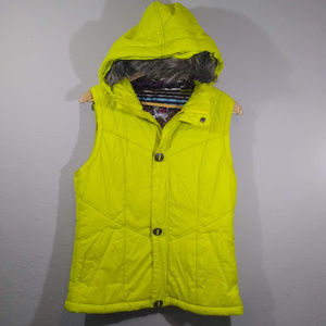 Burton Dryride Hooded Puffer Vest